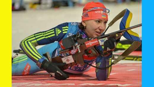 Українка Олена Підгрушна стала кращою на першому етапі Кубка світу з біатлону