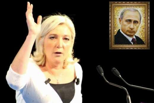 Партия Путина не смогла победить во Франции