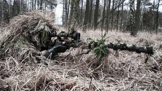 Бойцы ВСУ стали мишенью снайпера
