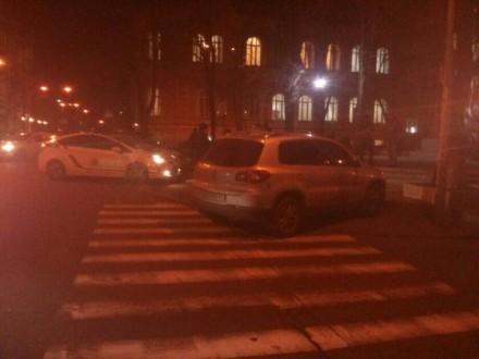 Киевский патруль задержал автомобиль Луценко