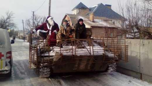 В Кремле пообещали прекратить огонь на Донбассе в Новогоднюю ночь
