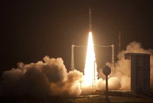 Французкая ракета с украинским двигателем уже на орбите