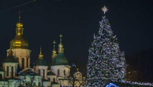 Головна ялинка країни вже в Києві