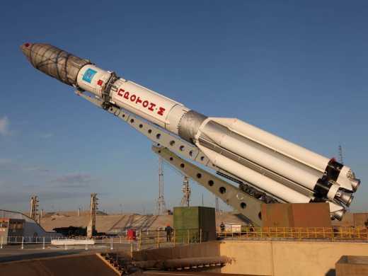 Россия вывела на орбиту военный супутник