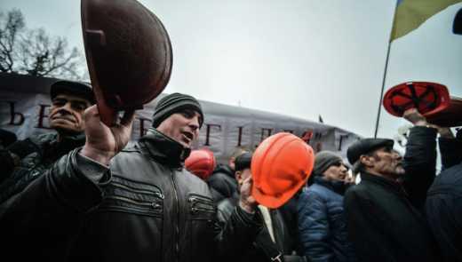 Протест на Волині: шахтарі перекрили трасу Київ – Ягодин