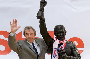 У легендарного англійського воротаря Гордона Бенкса діагностували рак
