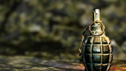 За крок до нещастя: у Києві посеред вулиці знайшли боєприпас