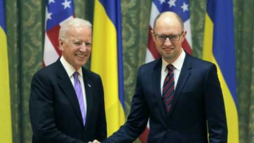 Яценюк пообіцяв Байдену провести 5 реформ