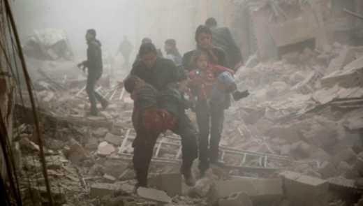 Внаслідок російських авіаударів загинули 50 мирних жителів Дамаска