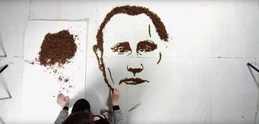 День высокой кухни: портрет Путина стал кормом для кур