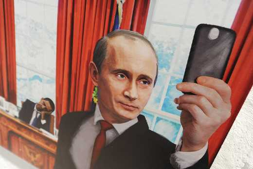 Послание Путина «послали» в карикатуры (ФОТО)