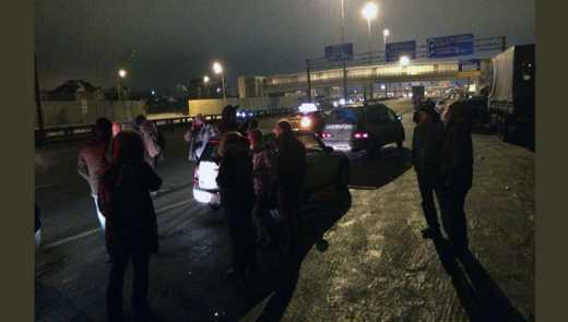 В России сотни дальнобойщиков вышли на «Майдан» против Путина (ФОТО)