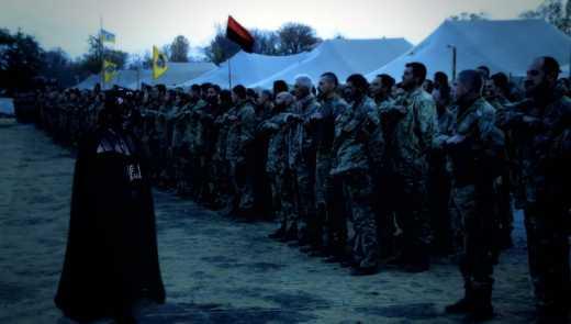 Бійці «Азову» зняли ролик за мотивами «Зоряних воєн»