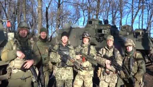 Десантники привітали дітей України з Миколаєм