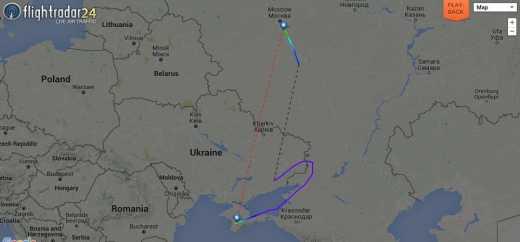 Новая провокация Путина в небе Украины едва не привела к гибели женщин и детей