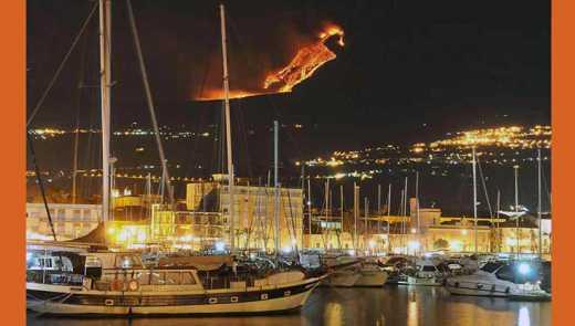 В Сицилии проснулся вулкан Этна