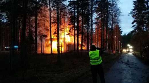 У Фінляндії згорів притулок для біженців