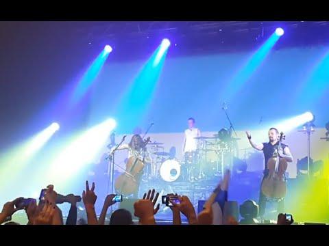 «Apocalyptica» виконав Гімн України (ВІДЕО)