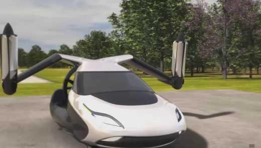 У США розпочали тестування літаючого авто