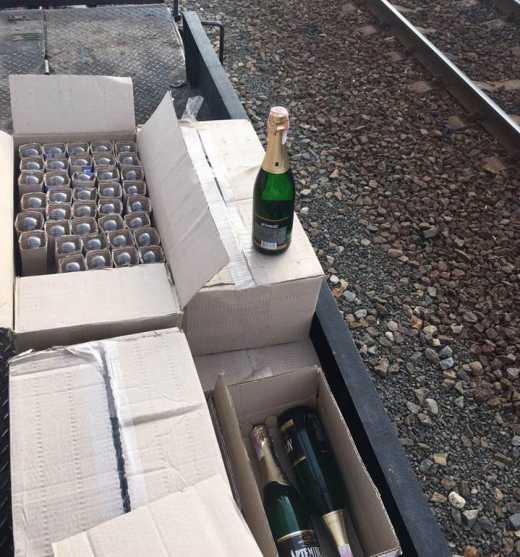 СБУ залишило террористів без шампанського під Новий рік