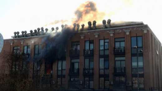 В Пекине подорвалась химическая лаборатория