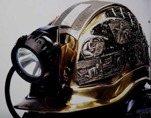 Дизайнерка із Донецька придумала каску за 43 тисячі доларів