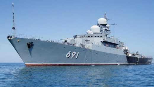 У Каспійське море увійшли ракетні кораблі РФ