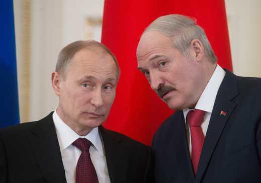 Лукашенко выступил против Украины, публично поддержав Путина