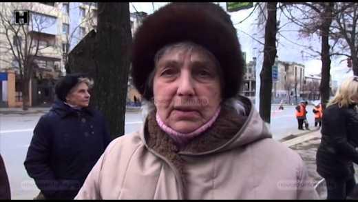 Мітинг у Луганську: Ми хочемо, щоб Україна знову почала платити зарплати і пенсії