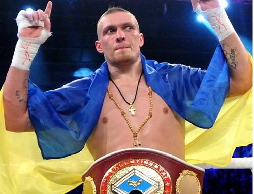 Усик захистив пояс чемпіона за версією WBO