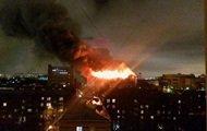 В Одесі загорівся хімзавод