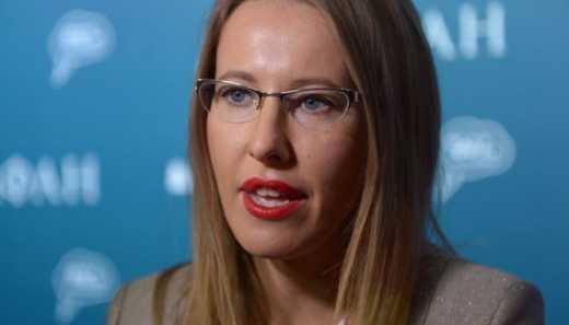 Российский канал не пустил Ксению Собчак в эфир