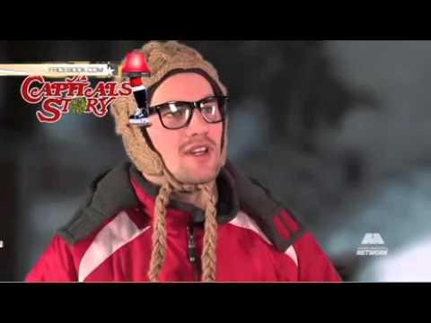 Российский хоккеист Овечкин переоделся в розового кролика (ВИДЕО)