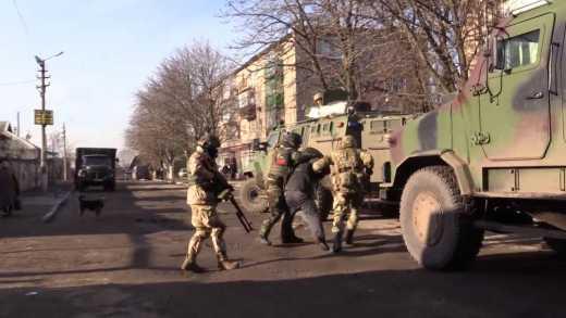СБУ «зачистила» Красногоровку: задержаны 85 человек (видео)