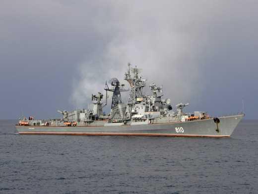 Російський військовий корабель обстріляв турецьке судно