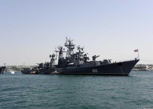 Турецкое судно «не заметило» российский корабль