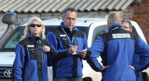 Терористи «ЛНР» ледь не перестріляли місію ОБСЄ