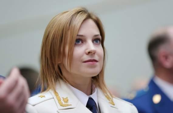 Прокурорша Поклонська хильнула оковитої прямо в генеральських погонах