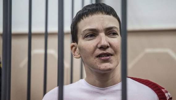 Наді Савченко стало погано: полоненій поставили крапельницю