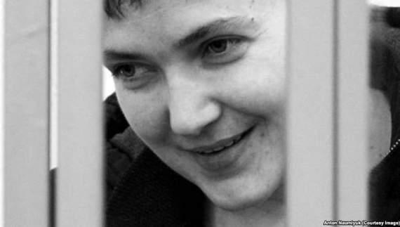 Савченко нарисовала, как ее взяли в плен (ФОТО)