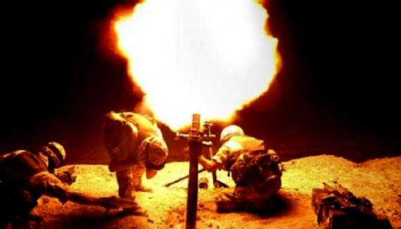 Бойовики обстріляли сили АТО біля Зайцевого