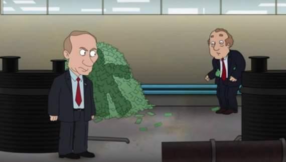 В Сети появился мультик про Путина-убийцу