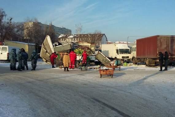 В Харькове подорвали рынок, есть жертвы