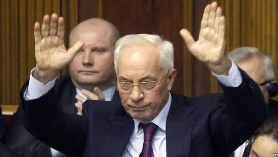 Суд ЕС снял санкции с Азарова и его сторонников