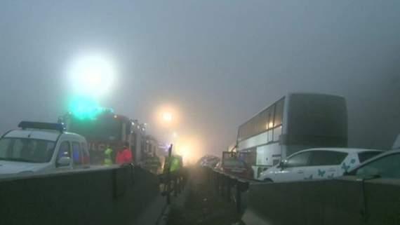 У Словенії через туман зіткнулися 50 автомобілів