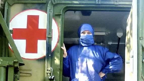В зоне АТО закрыли мобильный госпиталь Пирогова