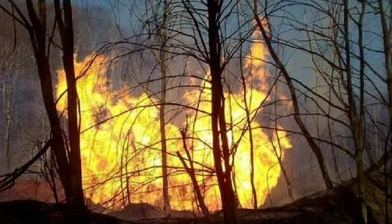 На Закарпатье произошел страшный взрыв на газопроводе