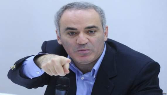 Гарри Каспаров «сливает» Путина