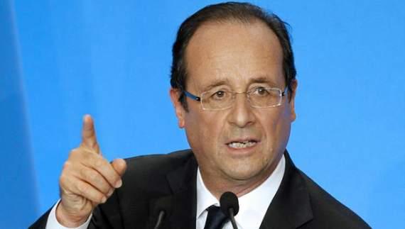 Олланд: Франция может потребовать суда над РФ за военные преступления в Сирии