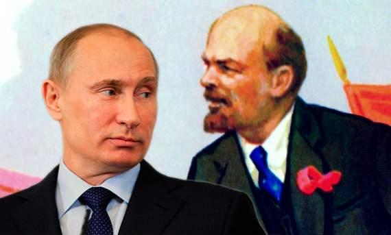 Путін розкритиквав свого теску Леніна